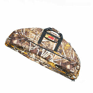 Archery Hunting Compound Bow Bag Padded Layer Bow Case Compound Bow Backpack