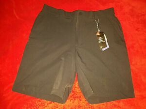 UNDER ARMOUR MENS BLACK  DRI FIT  SIZE 38  GOLF  SHORTS  NEW WITH TAGS