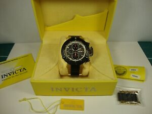 Invicta Men 4564 Subaqua Noma III Swiss Made Valjoux 7750 Auto Watch. GLD/BLK