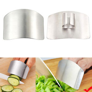 Finger Guard Protector Hand Kitchen Tools Stainless Steel Chop Safe Slice Knife C $1.79