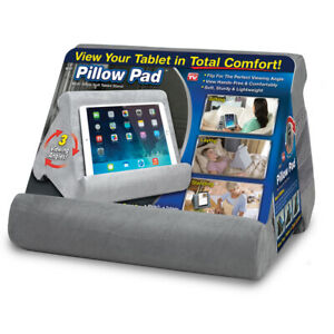 Pillow Pad  As Seen On TV  Tablet Holder  Cushioned Foam  1 pk Assorted Colors