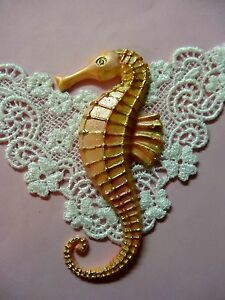 Sea Horse silicone food cupcake mold fondant cake decorating APPROVED FOR FOOD