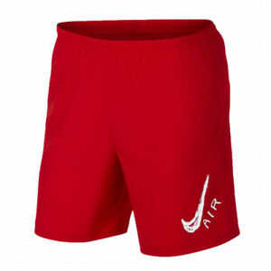 Nike Dry Men's 7 Red White Running Shorts AJ7755 657 Size XXL NWT $24.99
