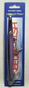 Tony Stetzko Med Needlefish Purple Scale Saltwater Lure 1.75 oz New In Package