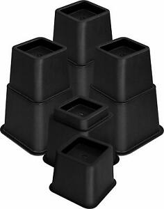 Utopia Bedding Adjustable Bed Furniture Risers 3 5 or 8 Inch Heavy Duty