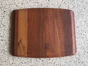 Mid Century Teak Serving / Carving Cutting Board DIGSMED 109 Denmark 1964