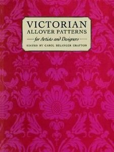 Victorian Patterns for Artists and Designers Dover Pictorial Archive Series $3.94