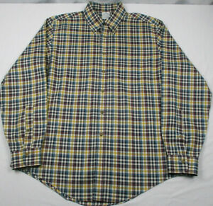 Brooks Brothers Supima Cotton Non Iron Long Sleeve Button Down Sport Shirt Large $22.39