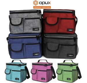 Insulated Lunch Bag Adult Lunch Box for Work School Men Women Kids Leakproof $13.99