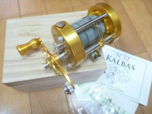 Isuzu Isuzu KALBAS Calvas Original No.12 Good Condition Fishing Bait Reel