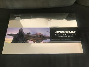 AS NEW Star Wars EP1 Lithograph Limited Collection 20 Prints by Doug Chian