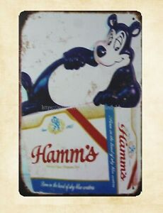 Hamm#x27;s beer beer Pop Shop Kitchen metal tin sign art prints posters
