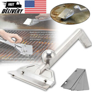 Heavy Duty Griddle Scraper  Flat Top Grill Accessories Griddle Cleaning Tools