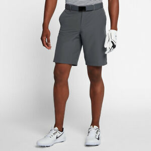 Men's Nike Flex Golf Standard Fit Shorts AA3306 036 Grey Dri Fit $29.95
