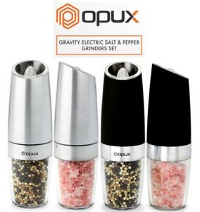 Salt and Pepper Grinder Mill Set Electric Automatic and Adjustable Coarseness