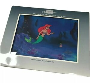 Walt Disney's Little Mermaid TV Production cel + Original drawing + COA Ariel $800.00