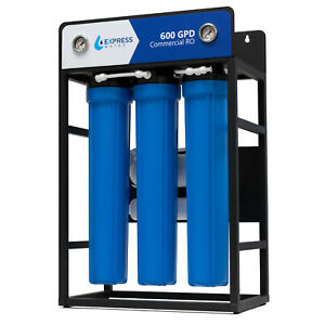 600 GPD Commercial Reverse Osmosis Water Filtration System 5 Stage High Capacity $699.99