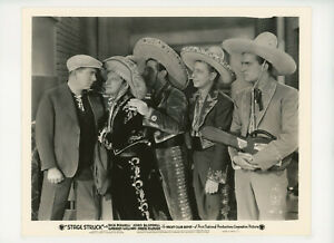 STAGE STRUCK Original Movie Still 8x10 Yacht Club Boys, Musical 1936 21668