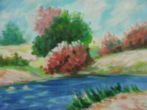 Scenic Landscape Oil Painting by Taylor 24