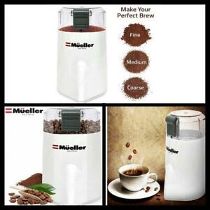 HyperGrind Electric Spice Coffee Grinder Mill Spice Herbs Nuts Grinding Tool NEW