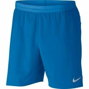 Nike Men's Flex Stride 7 Photo Blue Lined Running Shorts AT4014 403 Size M L $34.99