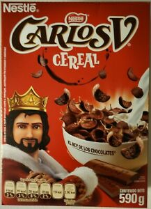 NEW NESTLE CARLOS V QUINTO CEREAL 20.8 OZ BOX FROM MEXICO FREE WORLD SHIPPING