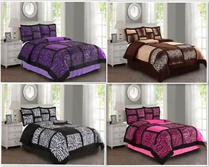 Empire Home Safari Damask 4-Piece Comforter Set Bed In A Bag - New Arrival Sale!
