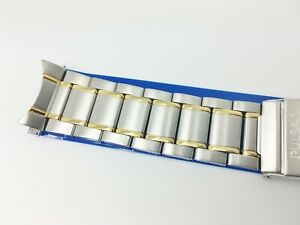 PULSAR by Seiko 22MM MENS REPLACEMENT TT STAINLESS UNIVERSAL WATCH BAND P9163 $28.00