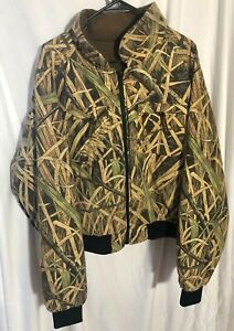 Herters Hunting Coat Jacket Camo Skyline Removable Pouch Fall Flight Mens XL