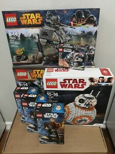 LEGO Star Wars Bundle!! Lot of 7 Sets NISB 75106 75187 75043 75193 75535 x3