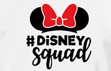 Disney Squad Youth Adult Shirt Girls Disney Vacation Weekend Trip Minnie Mouse $22.00