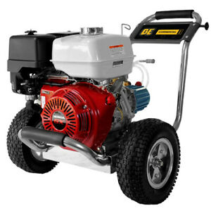 BE PRESSURE SUPPLY PE-4013HWPSCAT Stainless Gas Pressure Washer4000 psi