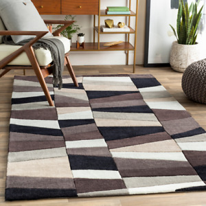 5x8 Plush Contemporary Abstract Hand Tufted Area Rug **FREE SHIPPING** $299.00