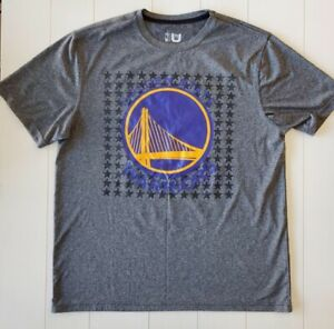 Nike Dri fit NBA Golden State Warriors Embroidered T shirt Men's Size XL $18.66