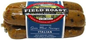 Field Roast Vegetarian Italian Sausage 13 Oz (4 Pack)