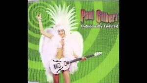 PAUL GILBERT Individually Twisted CD Mr. Big Racer X Badlands