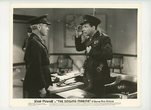 SINGING MARINE Original Movie Still 8x10 Dick Powell, Comedy Music 1937 21804