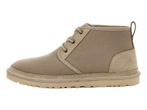UGG NEUMEL BLACK Mens Suede Low Chukka Boots 3236 $110.00