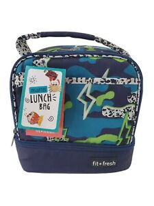 Insulated Lunch Bag Fit + Fresh Thermal Insulation
