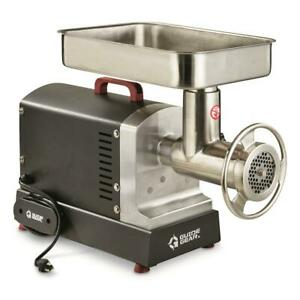 Electric Commercial Grade Meat Grinder #32 with Foot Pedal 1.5 hp 1125 Watt
