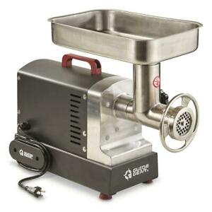 Electric Commercial Grade Meat Grinder #12 with Foot Pedal 0.75 hp 550 Watt