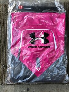 Under Armour Undeniable Sackpack Day Backpack, Hot Pink, One Size $29.99