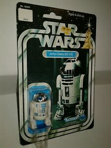 Vintage Star Wars Star Wars Vintage Kenner R2-D2 1978 12 Back-B CLEAR BUBBLE