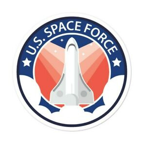 US Space Force Sticker USA Flag Trump President Donald GOP 2020 Reelect Economy $4.97