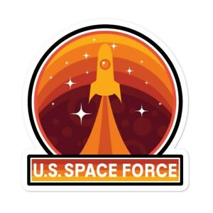 US Space Force Sticker USA Trump President Flag Donald GOP 2020 Reelect $4.97
