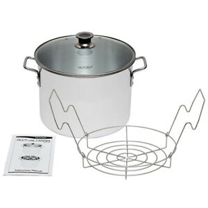Harvest Stainless steel Multi Use Canner With Stainless Steel Rack VKP1130
