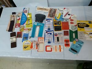 Vintage Bondex Iron On Patches Singer Sewing Needles Lot Many Misc SEWING Drawer $26.20