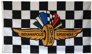 Indianapolis Motor Speedway Flag 3x5 FT Checkered Banner