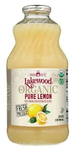 Lakewood - Organic Pure Juice Lemon - 32 fl. oz.