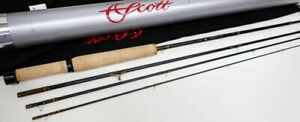 SCOTT G2 7724 7.7ft # 2 4PC Fly Fishing Rod With Case & Bag Used  From Japan